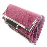 China 2012 hot style pink bead evening cluth bag on sale
