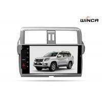 China Full Touch Screen 10.1 Inch Prado Head Unit , Black Ipod Car Stereo Head Unit on sale