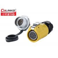 Buy cheap LP20 Series Quick Locking 2-12Pin Multi Pin Connectors Waterproof 12Pin Plug from wholesalers