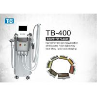 Buy cheap Super Vertical IPL SHR Hair Removal Machine / E-light Nd Yag Laser Multifunction from wholesalers