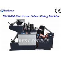 Buy cheap Automatic High Speed Non Woven Fabric Slitting Machine /Slitting Width upto 1800mm from wholesalers