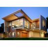Top quality Luxurious Prefabricated Steel House / Light Steel Frame Prefab Metal House ETC for sale