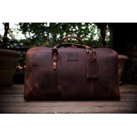 Buy cheap Designer custom men leisure travel bags , fashion multi-function leather duffel bags sales from wholesalers