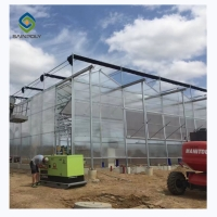 Buy cheap 3.0m 6.0m Pc Sheet Polycarbonate Greenhouses UV Protection from wholesalers
