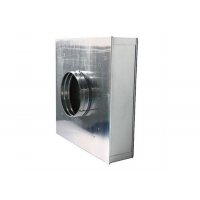 Buy cheap Cleanroom Terminal HEPA Filter Housing Cassette H13/ H13 HEPA Filter Boxes product