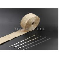 Buy cheap 550 ℃ Fiberglass Heat Resistant Insulation Tape Different Thickness Multi Colored from wholesalers