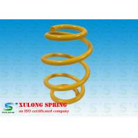Buy cheap OEM Yellow Barrel Custom Automotive Coil Springs , Car Suspension Springs product