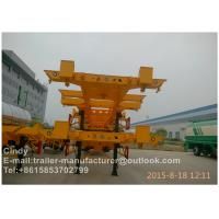 Buy cheap International Standard Container Trailer Chassis For Loading 20ft 40ft Containers from wholesalers