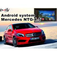 Buy cheap Video Interface Car Navigation Box , Android Gps Navigation Mercedes Benz A Class NTG 4.5 Mirrorlink from wholesalers