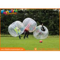 Buy cheap TPU / PVC Inflatable Zorb Ball / Adult Body Bumper Ball For Entertainment from wholesalers