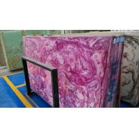 Buy cheap Violet onyx translucent panels from wholesalers