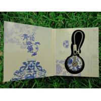 Buy cheap premium business promotional gifts items idea metal ceramic key chains with gift box from wholesalers