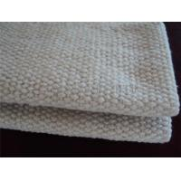 Buy cheap 2 - 10mm Thickness Ceramic Fiber Insulation Blanket For Wood Stoves / Steel Wire Reinforced from wholesalers