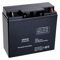 Buy cheap ABS 12v18ah Hybrid, Online Or Standby UPS Valve Regulated Lead Acid Batteries For Telecommunications from wholesalers