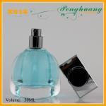 Buy cheap Blue Custom Design Art Glass Perfume Bottles 80ml from wholesalers