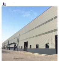 Buy cheap Q345 factory  price  light structural steel beam construction design steel warehouse structure from wholesalers