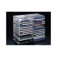 Buy cheap Acrylic table CD display rack/ clear acrylic CD holder from wholesalers