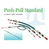 Easy Install Universal Push Pull Cables Size Customized High Temperature Resistance