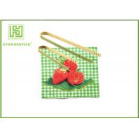 Buy cheap Disposable House Kitchen Wares 15cm Wooden Toaster Tongs For Baking House from wholesalers