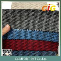 Buy cheap 220GSM Auto Upholstery Fabric  / 100% Polyester Jacquard Car Seat  Fabric product