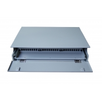 Buy cheap Steel 19inch 48cores FTTB Rack Mounted Patch Panel from wholesalers