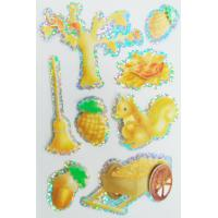 Buy cheap Peel Off Paper Kids Hologram Stickers Custom Made For Books 80x120 Mm from wholesalers