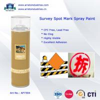 Buy cheap High Visibility Marking Spray Paint No Clog Survey Spot Aerosol Survey Marking Paint 500ml from wholesalers