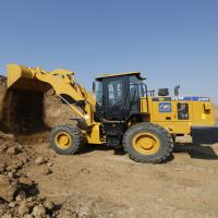 Buy cheap Yellow Road Construction Machinery Wheel Loader SEM 3T SEM636D 2.5m³ Bucket WP6G125E332 from wholesalers