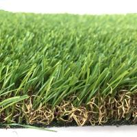 Buy cheap Premium quality Environmental Anti-UV Pile Height 25 mm denstiy 14700 green color  Synthetic turf lawn from wholesalers