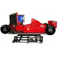 Buy cheap F1 Ferrari Game Machine Virtual Car Racing Simulator Electric System 360 Degree from wholesalers