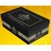 Buy cheap Hot!! Best sell black shoe box, high quality wholesale custom shoe box, customized elegant from wholesalers