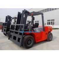 Buy cheap 8 Ton Capacity Industrial Forklift Truck 3000mm Lifting Height With Fork Positioner from wholesalers