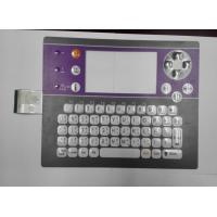 Buy cheap Tablet / Computer Membrane Switch Keyboard , PC / PET Membrane Keypad from wholesalers