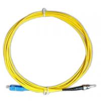 Buy cheap Fiber Optic Patch Cord FC-ST Single Mode Simplex 3.0mm High Credibility from wholesalers