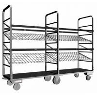 Buy cheap Chassis With Plastic Plate Deck of Sorting Rack With Custom Dimensions from wholesalers
