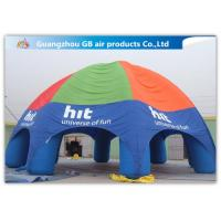 Buy cheap Durable Inflatable Air Tent Inflatable Spider Dome Tent For Advertising Service product