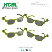 Buy cheap Dragonfly Style Children Cinema 3D Glasses TV 3D Polarized Glasses Eyewear from wholesalers
