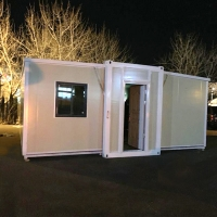 Buy cheap Steel Modular Prefabricated 20ft Flat Pack Containers from wholesalers