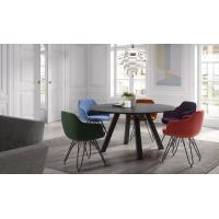 Buy cheap Restaurant Patio Chairs With Metal Legs , Modern Commercial Dining Chairs from wholesalers