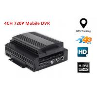 Buy cheap 4CH AHD 720P Hard Disk 3G Mobile DVR WIFI Car Dvr Recorder With G-sensor GPS product