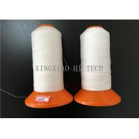 PTFE Fire Retardant Embroidery Thread , Plastic Cone Flame Resistant Thread