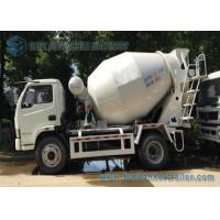 Buy cheap 4 x 2 type 3 cubic meters  Mini Concrete Mixer Pump Truck with  Manual Control  For sale from wholesalers