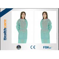 Buy cheap PP Disposable Isolation Gowns With Seperate Tie for Beauty Centre Fluid Resistant from wholesalers