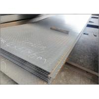 Buy cheap Structural Mild Steel Diamond Metal Plate , Anti Slip ASTM Checkered Plate Steel from wholesalers