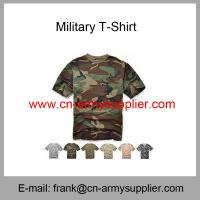 Buy cheap Wholesale Cheap China Army Digital Camouflage Military Police T-Shirt from wholesalers