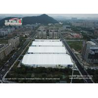 Buy cheap 40 Wide Aluminum Frame Exhibition Tent With White PVC Roof Cover For Sale from wholesalers
