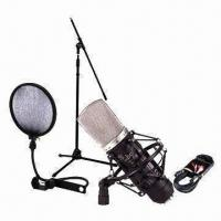 Buy cheap USB Studio Condenser Microphone Set with Analog-to-digital Converter from wholesalers