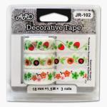 Buy cheap JR-102D Paper Lace Tape, fruits design, curve edge, multi colors from wholesalers
