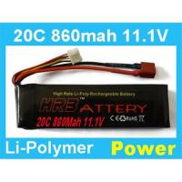 Buy cheap HRB 11.1V 860MAH 20C Rc Lipo Battery from wholesalers