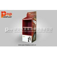 Buy cheap Hair Styling Tools Floor Corrugated Pop Display With 4C Printing For Exhibition from wholesalers